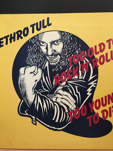 АКЦИЯ!!! до 25-04-21 -5% Jethro Tull – Too Old To Rock N' Roll: Too Young To Die *1976 *Chrysalis –