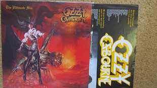 Ozzy Osbourne – The Ultimate Sin *1986 *Epic – EPC 26404 *Netherlands *Original *Comes with lyrics