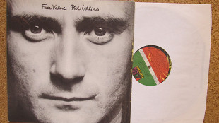 Phil Collins – Face Value *1981 *Atlantic – XSD 16029, Atlantic – XSD-16029 *Canada *Original *EX+/E