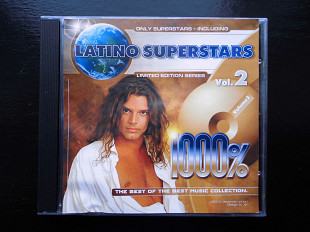 CD диск Latino Supetstars Vol.2