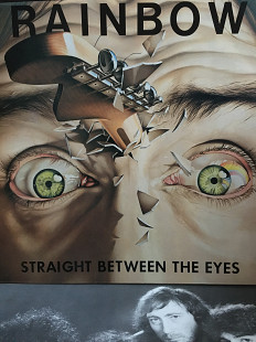 Rainbow – Straight Between The Eyes *1982 *Polydor – POLD 5056 *UK 1PRESS *Original, insert *M-/NM -