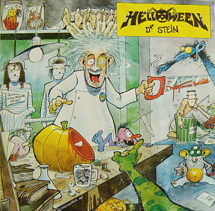 Helloween (Dr.Stein) 1988. (LP). 12. Vinyl. Пластинка. Germany. EX+/EX+