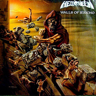 Helloween ‎ (Walls Of Jericho) 1985. (LP). 12. Vinyl. Пластинка. Germany. EX+/EX+