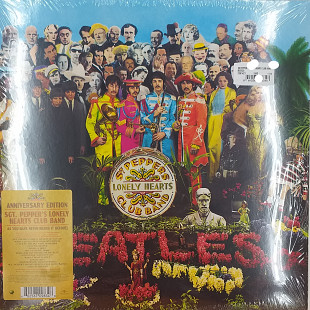"The Beatles ""Sgt'Peppers lonely hearts club band"" Anniversary edition (Новый, запечатаный)"