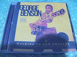 "CD George Benson ""Walking To New Orleans"" 2019г. В Коллекцию !!!"