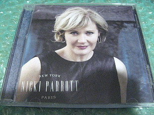 "CD Nicki Parrott ""New York Paris"" 2019г. В Коллекцию !!!"