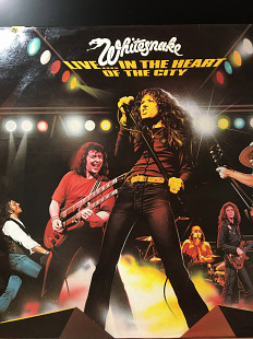 UK* 1 PRESS*Whitesnake – Live... In The Heart Of The City *1980 *United Artists Records – SNAKE 1, S