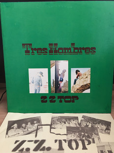АКЦИЯ!!! до 25-04-21 -5% ZZ Top – Tres Hombres*1973 *Warner Bros. Records – BSK 3270 *US *NM/NM -30