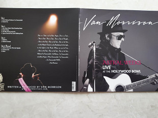 VAN MORRISON ( THEM ) ASTRAL WEEKS Live at the Hollywood Bowl 2 LP