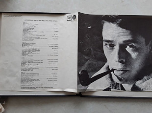 JACQUES BRELL JACQUES BRELL IS ALIVE AND WELL AND LIVING IN PARIS 2 LP BOX