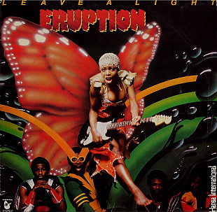 Виниловый Альбом ERUPTION -Leave A Light- 1979 Club Edition (ОРИГИНАЛ)