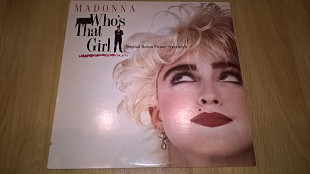 Madonna (Who's That Girl) 1987. (LP). 12. Vinyl. Пластинка. U.S.A.