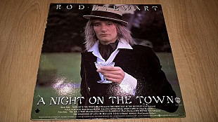 Rod Stewart (A Night On The Town) 1976. (LP). 12. Vinyl. Пластинка. Canada.