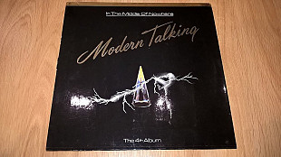 Modern Talking (In The Middle Of Nowhere. The 4th Album) 1986. (LP). 12. Vinyl. Пластинка. Germany.