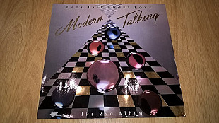 Modern Talking (Let's Talk About Love. The 2nd Album) 1985. (LP). 12. Vinyl. Пластинка. Germany. Лам