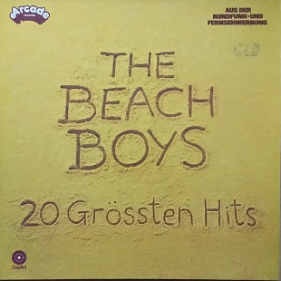 "The Beach Boys ""20 Grossten Hits"""