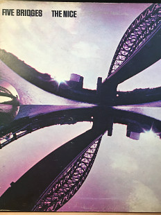Nice, The – Five Bridges *1970 *Charisma – CAS 1014 *UK *Original *1 Press*Pink Label, Gatefold Slee
