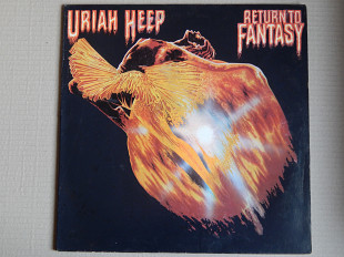 Uriah Heep ‎– Return To Fantasy (Bronze ‎– BRO 2010, France) EX+/EX+