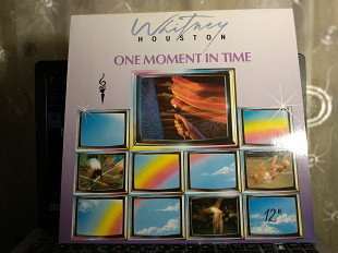 WHITNEY HOUSTON One Moment in Time 45 maxi
