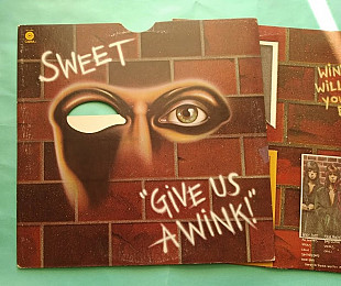 Sweet - Give Us A Wink / Capitol ST-11496 , usa , vg-/vg+