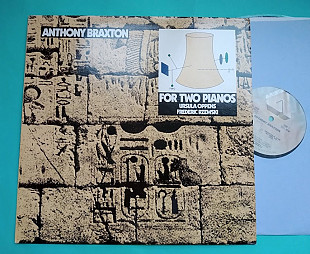 ANTHONY BRAXTON - For Two Pianos 1982 / ARISTA – AL 9559 usa
