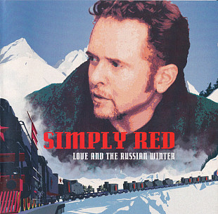Фирм cd Simply Red ‎– Love And The Russian Winter