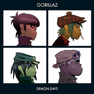 Фирм cd Gorillaz - Demon Days