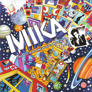 Фирм cd MIKA ‎– The Boy Who Knew Too Much