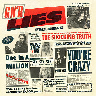 Фирм cd Guns N' Roses ‎– G N' R Lies