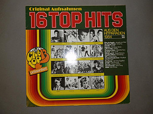 Пластинка 16 Top Hits - Aus Den Hitparaden 1984 - Slade, Tina Turner, Gazebo, Fun Fun, Culture Club,