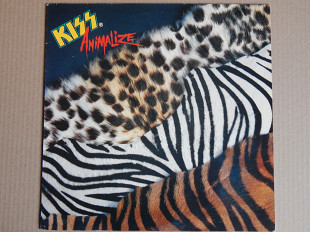 Kiss ‎– Animalize (Casablanca ‎– 822 495-1, Holland) insert NM-/NM-