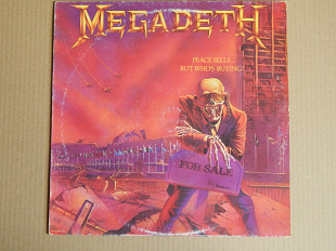 Megadeth ‎– Peace Sells... But Who's Buying? (Capitol Records ‎– 54 2406261, Italy) insert EX+/NM-