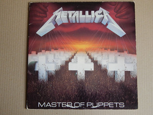 Metallica ‎– Master Of Puppets (Music For Nations ‎– MFN 60 DM, UK) EX+/NM-/NM-