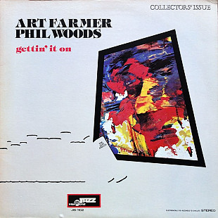Art Farmer, Phil Woods ‎– Gettin' It On