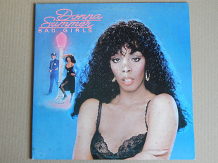 Donna Summer ‎– Bad Girls (Casablanca ‎– CA. LP 5036, Italy) 2 inserts EX+/NM-/NM-