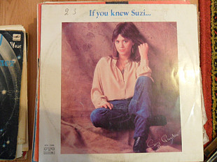 "Пластинка "" Suzi Quatro"" If you knew Suzi."