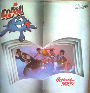 Пластинка винил ELAN School party (OPUS) Чехословакия 1985 г..