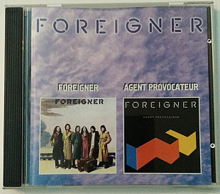 CD Foreigner - Foreigner 1977 Agent Provocateur 1984 2in1