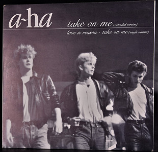 A-ha ‎– Warner Bros. Records ‎–Germany