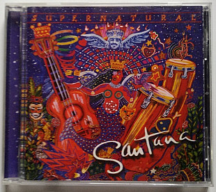 CD Santana ‎– Supernatural (1999, Arista, 07822 19080)