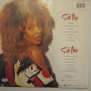Tina Turner Break Every Rule Europe 1986