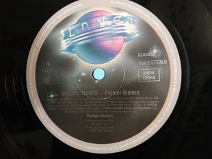 POINTER SISTERS Special Things lp
