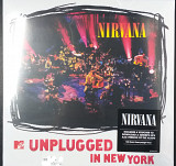 "NIRVANA ""MTV Unplugged in New York"" SS(Новый, запечатаный )"