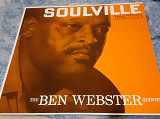 Пластинка The Ben Webster Quintet ‎– Soulville. (Japan).