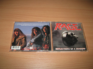 RAGE - Reflections Of A Shadow (1990 Noise 1st press, USA)