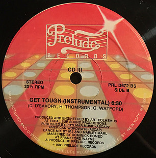 "CD III - Get Tough (12"")"