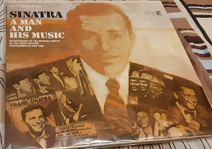 Пластинка 2 Lp album Frank Sinatra ‎– A Man And His Music.