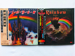 8 x Mini LP CD _ RAINBOW (1975 - 95)_ЗПЧ