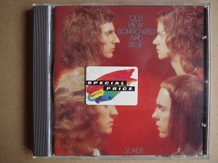 CD Slade ‎– Old New Borrowed And Blue (1974)