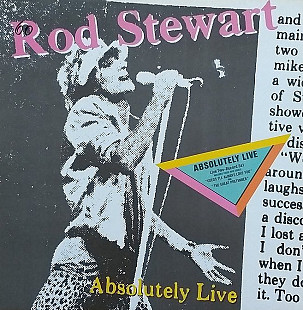 "Rod Stewart ""Absolutely Live"" 2LP"